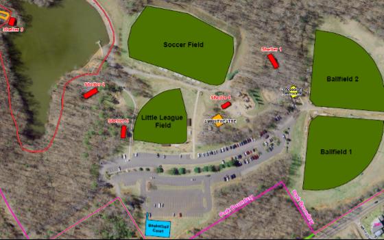 Finch Park Shelter Layout